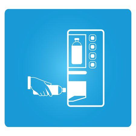 distribution automatique: distributeur automatique Illustration