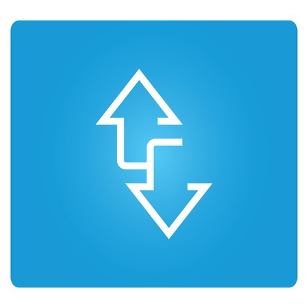 two way arrows Vector