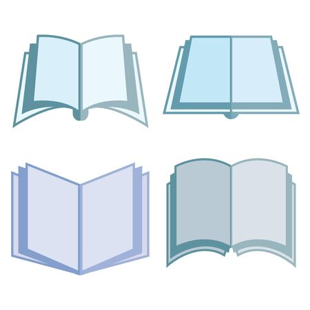 magazine stack: book icons