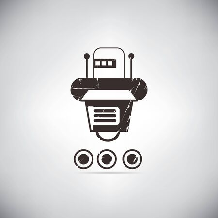 cute robot: cute robot Illustration