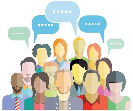 mensen groep: mensen groep gemeenschap sociaal netwerk