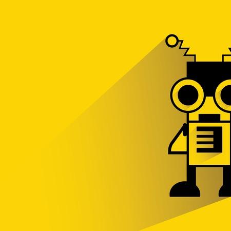 cute robot: cute robot cartoon