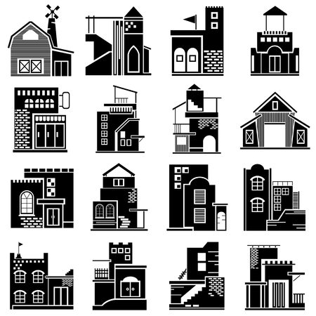historic site: building icons