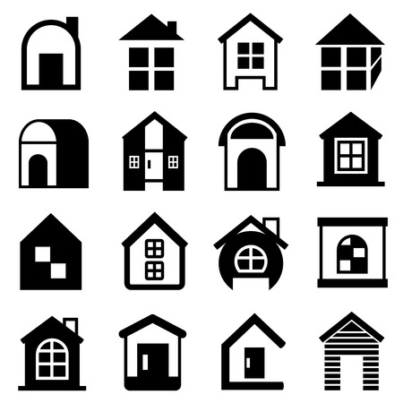house icons home icons Vector