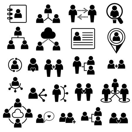 people icons Vettoriali