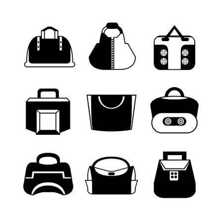 handbags: handbags icons