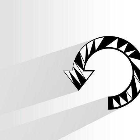 reload: arrow reload Illustration
