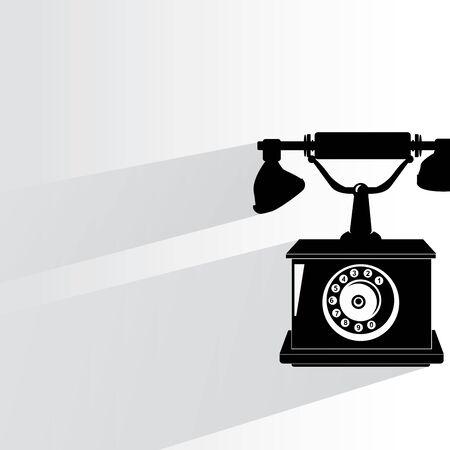 vintage telephone: old telephone vintage style