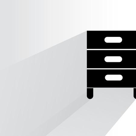 filling folder: cabinet