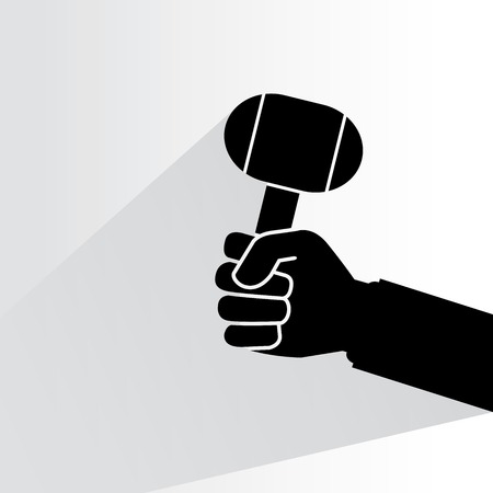 lump: lump hammer Illustration