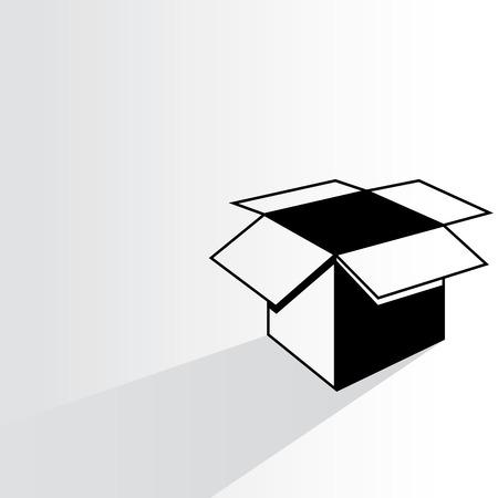 stow: open box