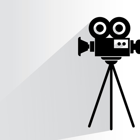cinema camera Vector