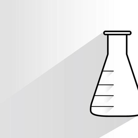 vitro: tubo vitro Vectores