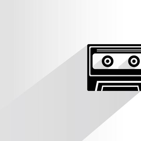 outdated: cassette tape Illustration