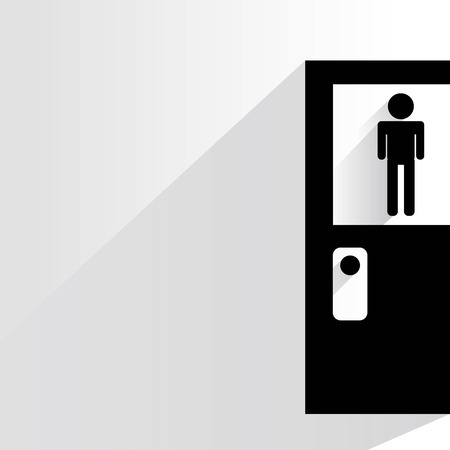 toilet sign  toilet door wc sign. Toilet Sign Stock Photos   Pictures  Royalty Free Toilet Sign