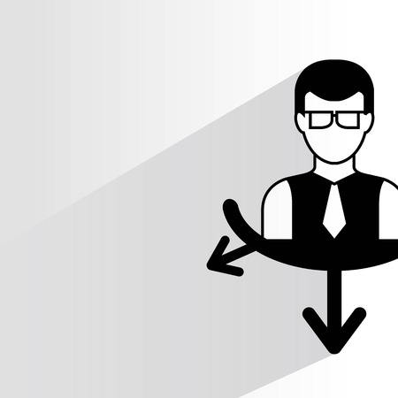 disposition: business man management concept
