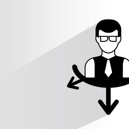 light duty: business man management concept