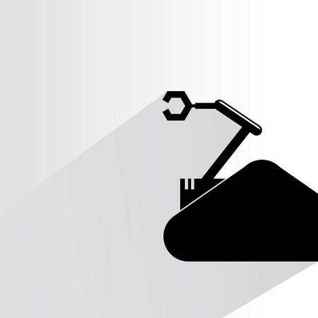 compute: rescue robot Illustration