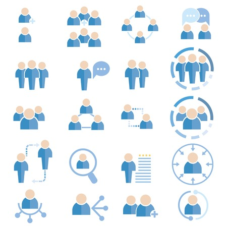 people icons Illustration