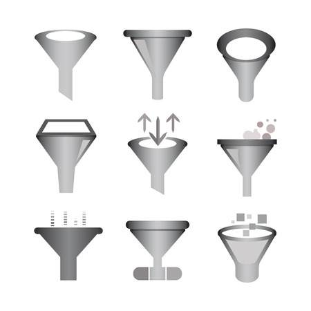 strainer: funnel icons