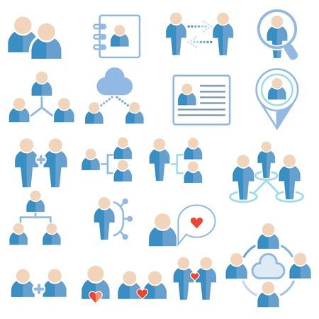 people icons Ilustração