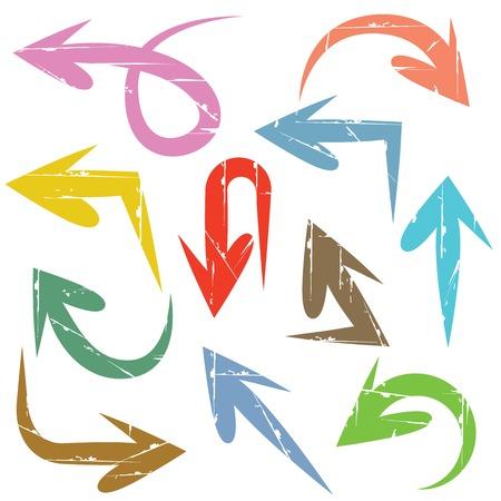 arrowheads: arrows Illustration
