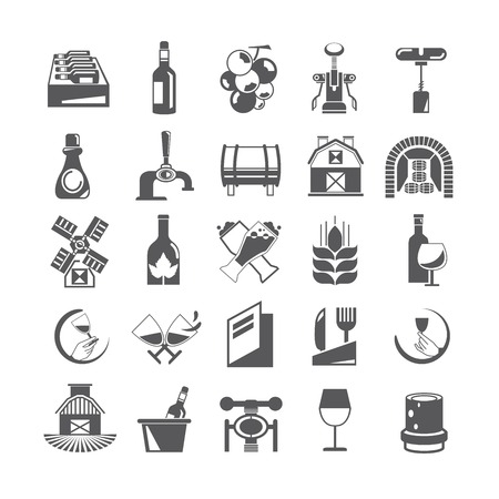 potation: wine icons
