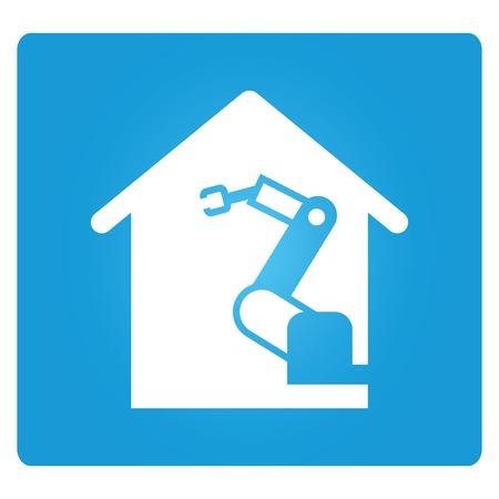 compute: home automation Illustration