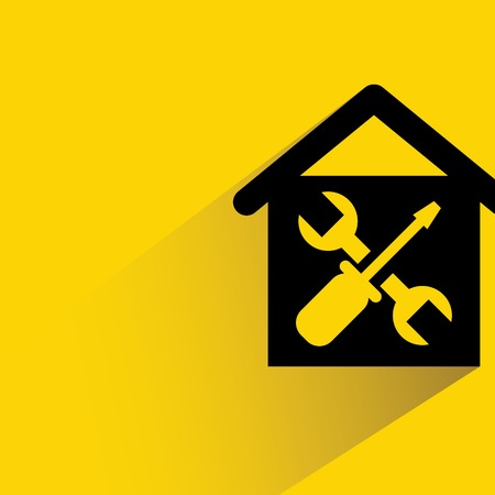 homes: home repair Illustration