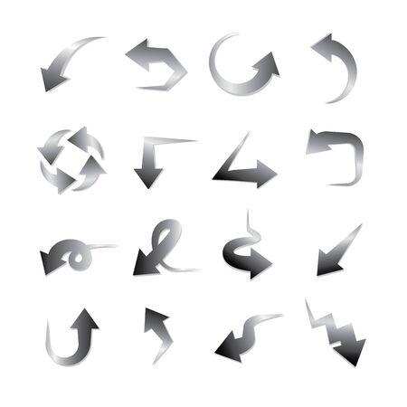 curvature: arrows Illustration