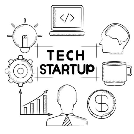tech start up Vector