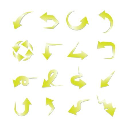 green arrows: green arrows