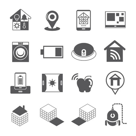control tools: smart home icons