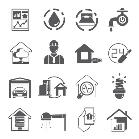 button icons: smart home icons