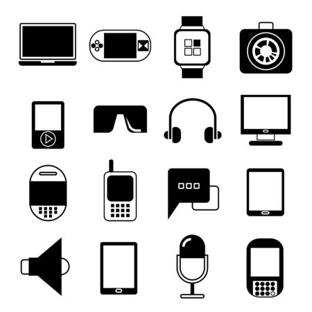 gadget: ic�nes gadget Illustration
