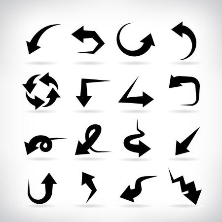 arrows  イラスト・ベクター素材