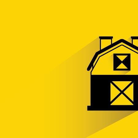 amarillo y negro: casa