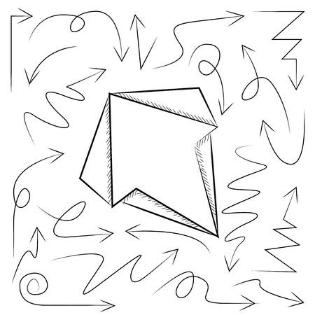 lefthand: sketch arrows doodle arrows