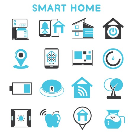 thermostat: smart home icons
