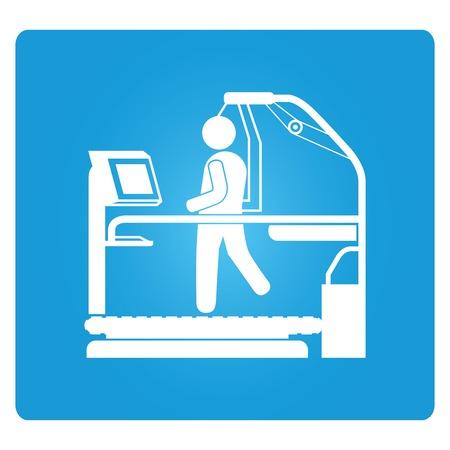 med: running heart rate monitor