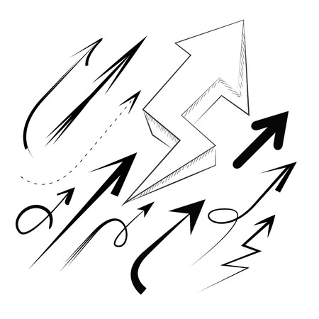 lefthand: doodle arrow set