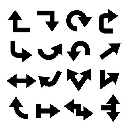 Flechas de vectores Foto de archivo - 41184138