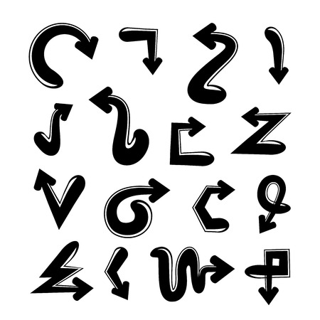brackets: arrows Illustration