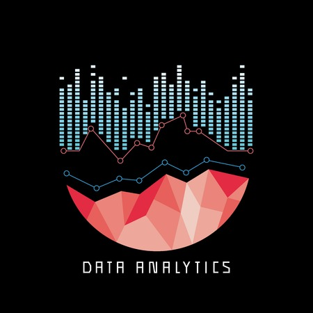 delineation: data analytics concept