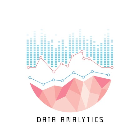 the big: análisis de datos concepto Vectores