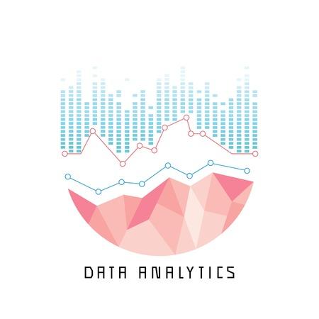 analytics: data analytics concept