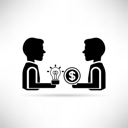 monetization: money and idea