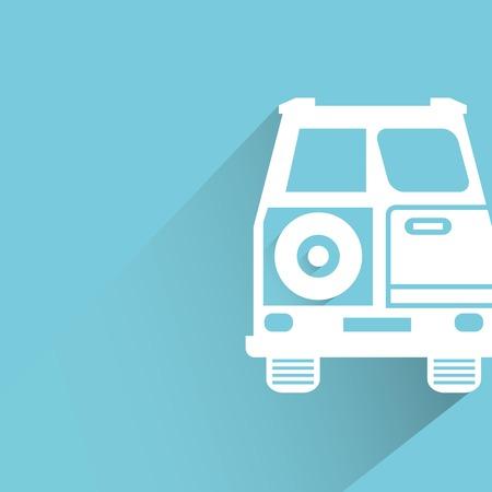 portage: car Illustration