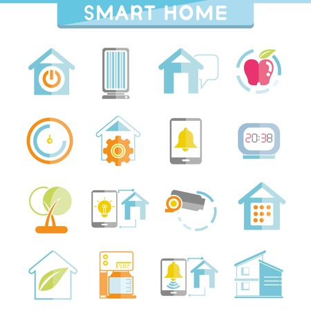 living thing: smart home icons