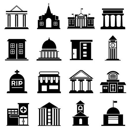 public building: public building icons